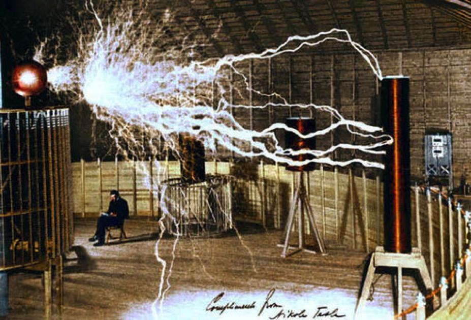 Tesla-Funken