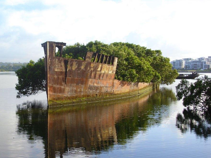 Schiff in Australien