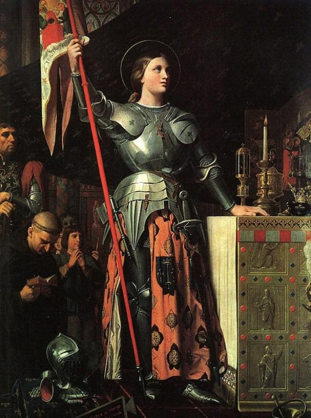 Joan-at-the-coronation-of-Charles-VII