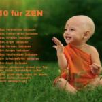 Zen und die Kunst auf den Schultern von Riesen zu stehen