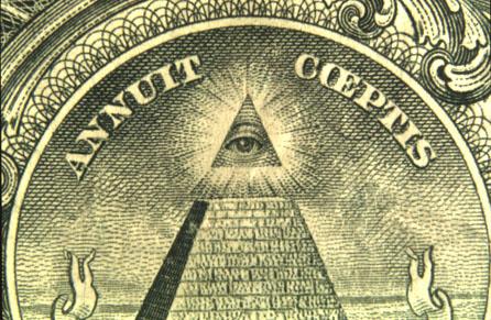 Das Licht hinter dem Allsehenden Auge auf dem amerikanischen Dollarschein stammt nicht von der Sonne, sondern vom Sirius. Die Grosse Pyramide von Gizeh wurde in Ausrichtung auf den Sirius gebaut und zeigt ihn deshalb direkt über der Pyramide leuchtend. Eine strahlende Huldigung an Sirius ist daher in den Taschen von Millionen von Bürgern.
