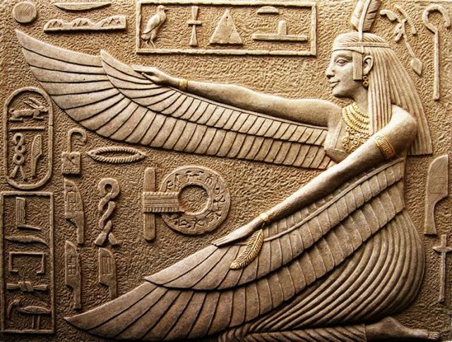 Maat die alte ägyptische göttin der wahrheit