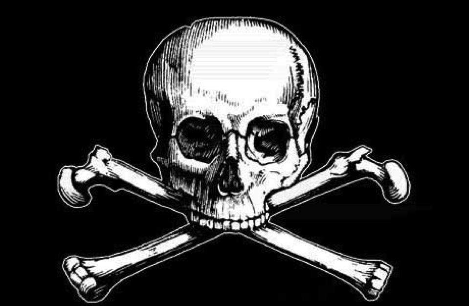 Der Totenschädel und die gekreuzten Knochen – Transinformation