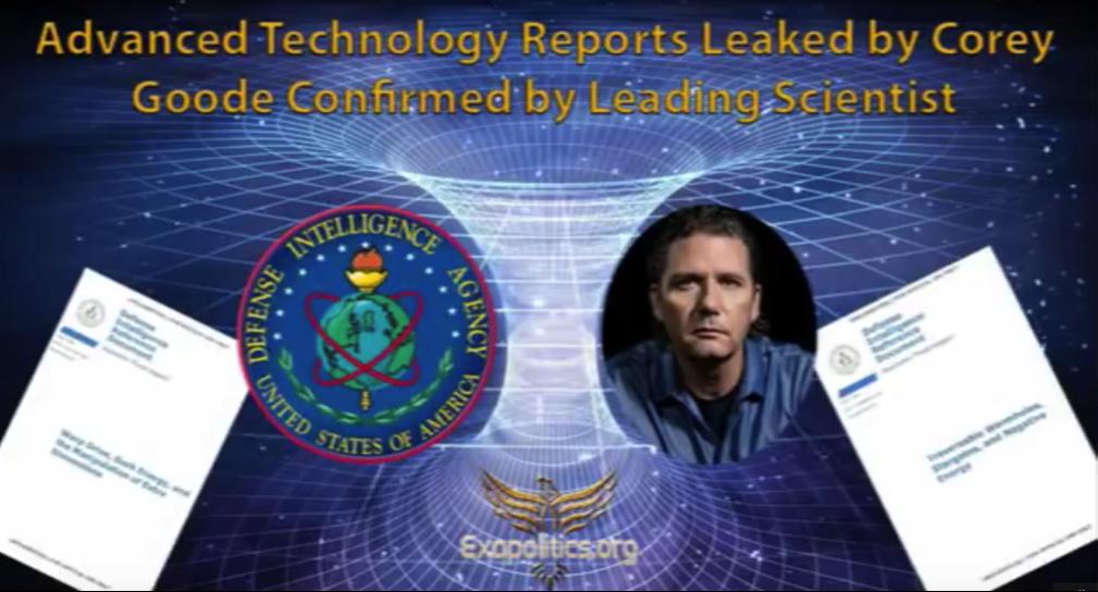 Von Corey Goode öffentlich gemachte Dokumente über fortgeschrittene Technologien wurden von führendem Wissenschaftler bestätigt