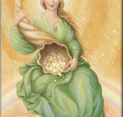 Abundantia, römische und nordische Göttin des Wohlstandes