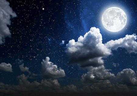Medizinisches Medium: Mond-Meditation