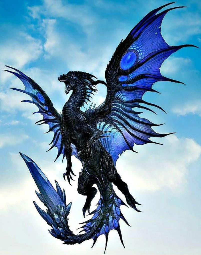 Die mythischen Kräfte der Drachen - Drachen als