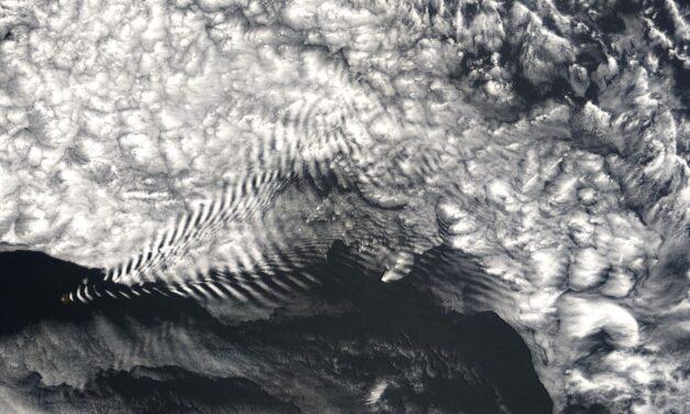 NASA-Satellitenfotos liefern schockierende Beweise für grossflächige Wetterbeeinflussung