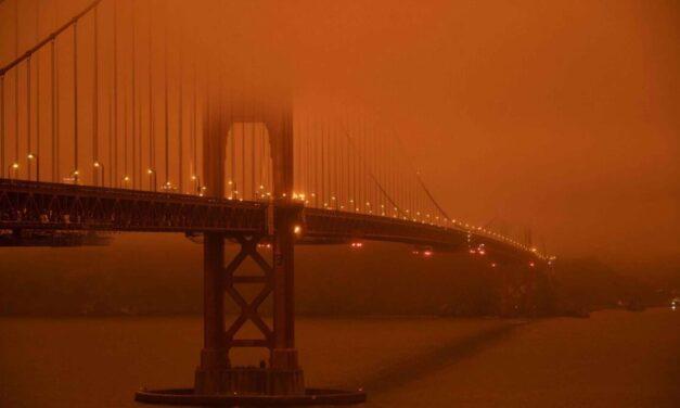 Meditation, um die Flächenbrände in Kalifornien und Oregon zu stoppen