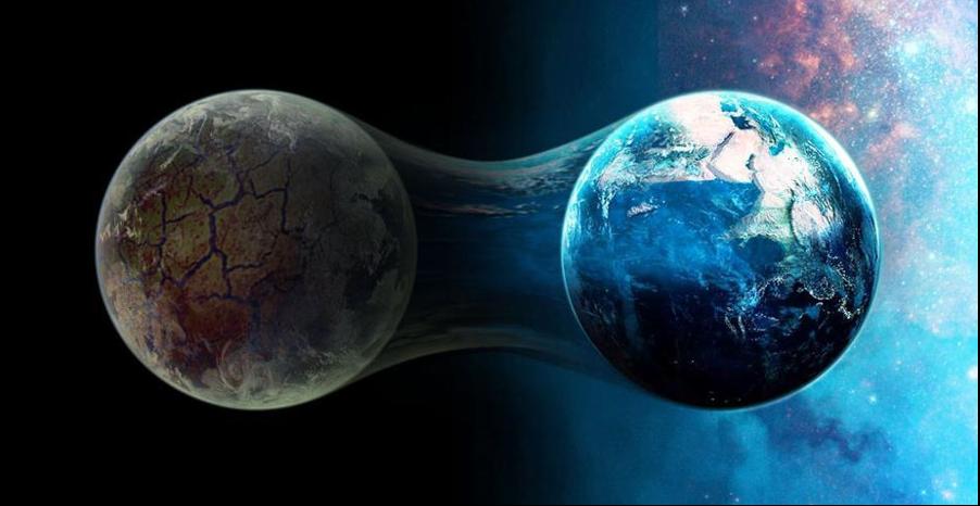 Die Menschheit lebt jetzt in zwei Welten!