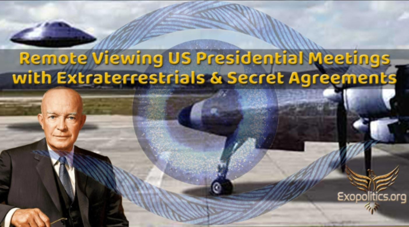 Dr. Salla: Fernwahrnehmung von den Treffen der US-Präsidenten mit Ausserirdischen und den geheimen Abkommen