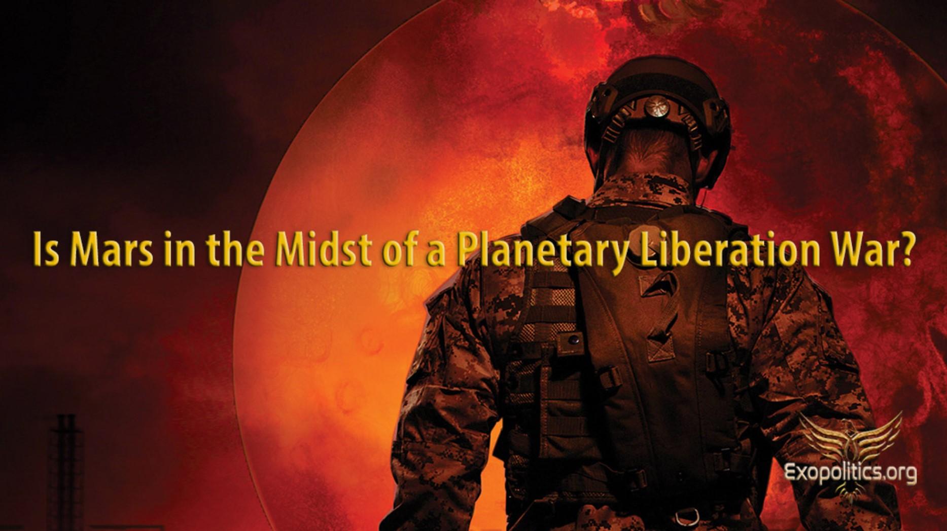 Dr. Salla: Steckt der Mars mitten in einem planetaren Befreiungskrieg?