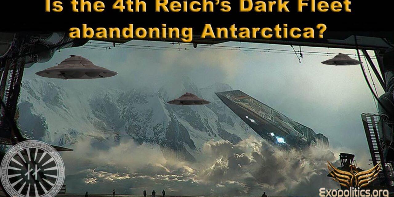 Dr. Salla: Verlässt die Dunkle Flotte des Vierten Reiches die Antarktis?