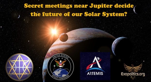 Entscheiden geheime Treffen in der Nähe des Jupiters über die Zukunft unseres Sonnensystems?
