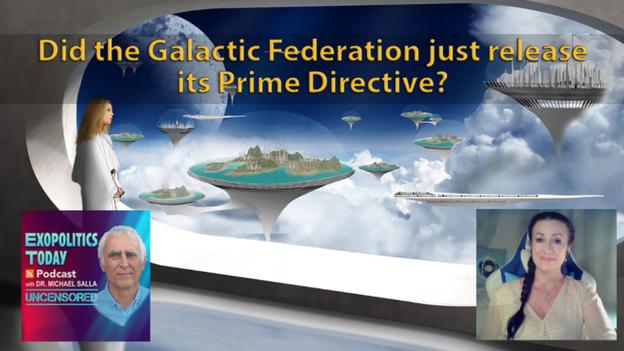 Hat die Galaktische Föderation soeben ihre Oberste Direktive veröffentlicht?
